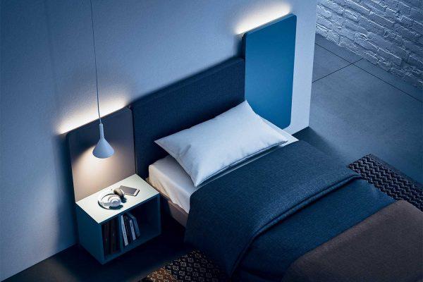 letto-singolo-comodino-integrato-wall
