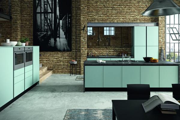 Cucine Aran Moderne Roma - Modello Quadro Aran